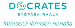 Docrates Syöpäsairaalan logo
